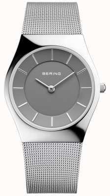 Bering Классический круглый серебряный миланский браслет 11936-309