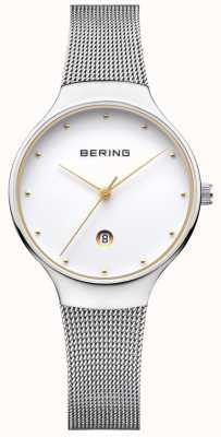 Bering Серебряный миланский ремень для женщин 13326-001
