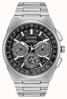 Citizen F900 спутниковая волна gps хронограф супер титан CC9008-50E