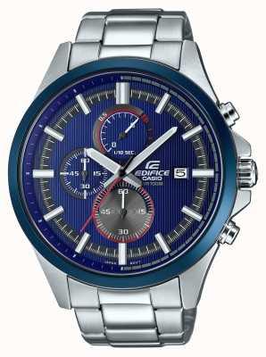 Casio Мужское здание гоночных синих часов с хронографом EFV-520RR-2AVUEF