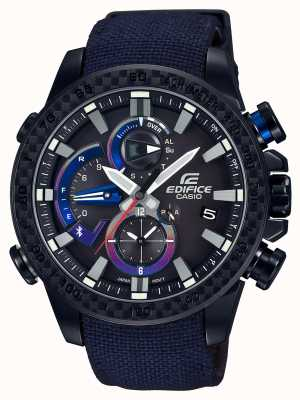 Casio Mens toro rosso bluetooth triple connect watch EQB-800TR-1AER