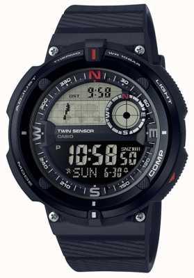 Casio Мужские классические часы мирового времени SGW-600H-1BER