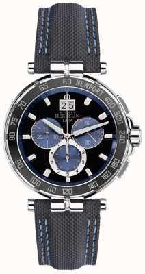 Michel Herbelin Мужской яхтенный клуб Newport, черный, синий 36656/AN65