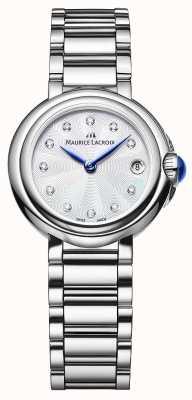 Maurice Lacroix Женские наручные часы с бриллиантами из бриллиантов FA1003-SS002-170-1