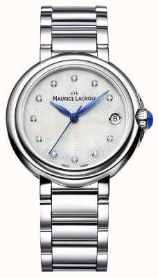 Maurice Lacroix Женские бриллиантовые браслеты с бриллиантами из 32-мм бриллиантов FA1004-SS002-170-1