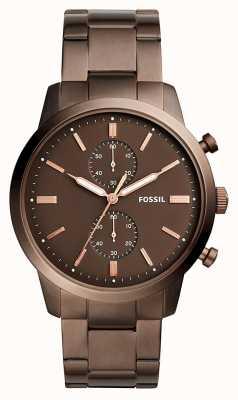 Fossil Мужской гороскоп хронограф коричневый FS5347