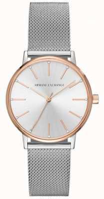Armani Exchange Женские часы из нержавеющей стали AX5537
