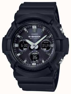 Casio Хронограф тревоги Waveceptor серый / черный GAW-100B-1AER