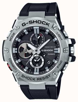 Casio G-steel bluetooth triple connect мужской хронограф GST-B100-1AER