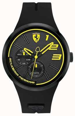 Scuderia Ferrari Fxx желтый и черный циферблат 0830471