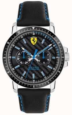 Scuderia Ferrari Черепичный черный ремешок 0830448