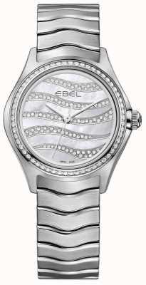 EBEL Женская волна 94 бриллиантовая нержавеющая сталь 1216270