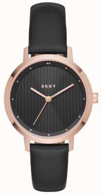 DKNY Женщины модернистского черного розового золота NY2641