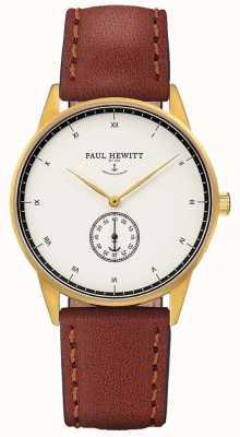 Paul Hewitt Кожаный ремешок из унисекса PH-M1-G-W-1M