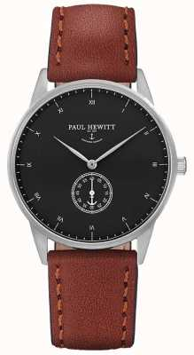 Paul Hewitt Кожаный ремешок из унисекса PH-M1-S-B-1M