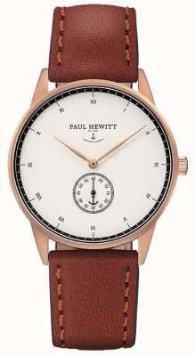 Paul Hewitt Кожаный ремешок из унисекса PH-M1-R-W-1M