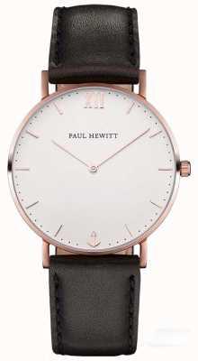 Paul Hewitt Мужской кожаный ремешок из матроса PH-SA-R-SM-W-2M