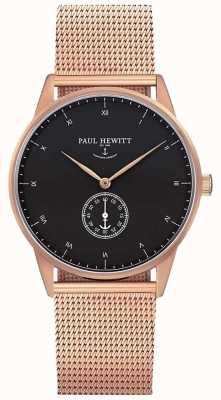 Paul Hewitt Унисексная подпись розовая золотая сетка PH-M1-R-B-4M