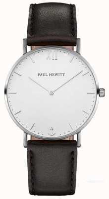 Paul Hewitt Мужской кожаный ремешок из матроса PH-SA-S-ST-W-2M