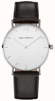 Paul Hewitt Мужской кожаный ремешок из матроса PH-SA-S-SM-W-2M