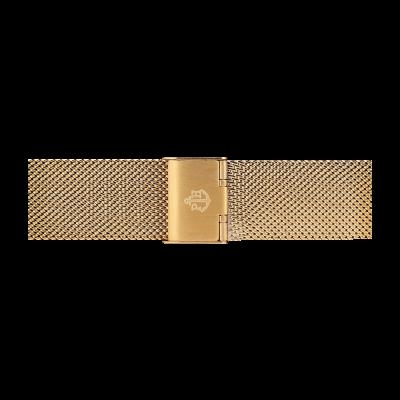 Paul Hewitt Золотой сетчатый ремень из нержавеющей стали, размер s PH-M1-G-4S