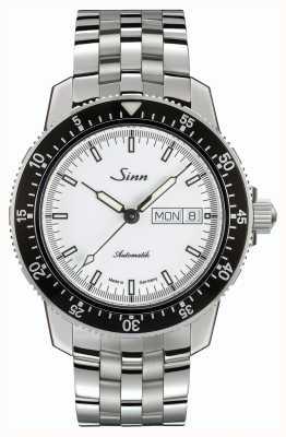 Sinn 104 st sa iw классический пилот-часы из нержавеющей стали тонкий ремешок 104.012 BRACELET