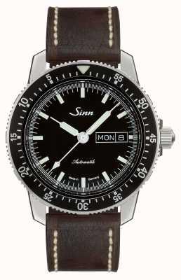 Sinn 104 st sa i классические летние часы темно-коричневого цвета 104.010-BL50202002007125401A