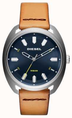 Diesel Мужские часы fastbak tan leather DZ1834