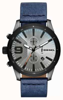 Diesel Мужские рашпиль хроно-джинсовые часы DZ4456