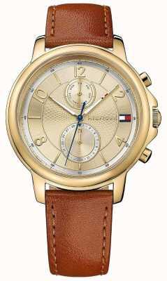 Tommy Hilfiger Женские часы claudia biscotto leather 1781818