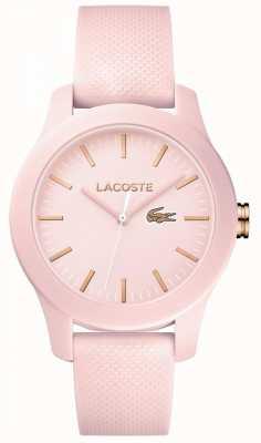 Lacoste Женщины 12.12 смотреть розовые 2001003