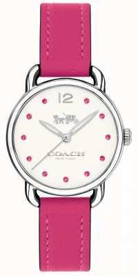 Coach Розовый кожаный ремешок для женщин 14502906