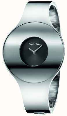 Calvin Klein Женщины серебряные стальные бесшовные часы маленькие K8C2S111