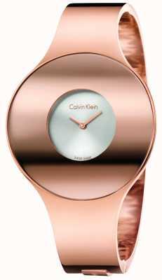 Calvin Klein Женщин розового золота тон бесшовные часы маленькие K8C2S616