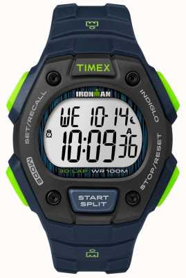 Timex Ironman classic 30 fs черный и лайм TW5M11600D7PF