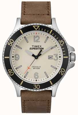 Timex Кожаный ремешок для ремня безопасности TW4B10600D7PF