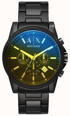 Armani Exchange Мужские наружные браслеты из нержавеющей стали AX2513