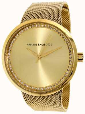 Armani Exchange Женская личная нержавеющая сталь AX4502