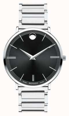 Movado Мужские ультратонкие часы из нержавеющей стали 0607167