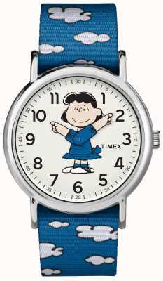 Timex Синий ремешок lucy watch TW2R413006B
