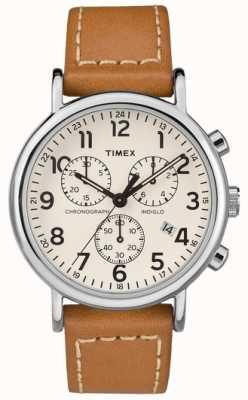 Timex Мужской ремешок для часов с хронографом TW2R42700D7PF