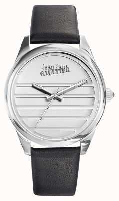 Jean Paul Gaultier Черный черный кожаный ремешок JP8502408