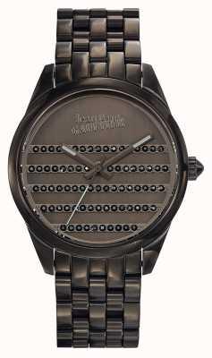 Jean Paul Gaultier Темно-синий металлический браслет и циферблат JP8502406