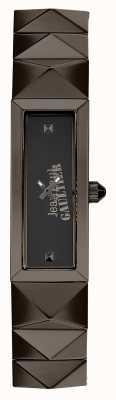Jean Paul Gaultier Женская мини-панк-пушка металлический браслет черный циферблат JP8504003