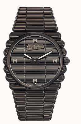 Jean Paul Gaultier Mens bord cote черный pvd браслет черный циферблат JP8504203