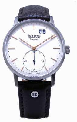 Bruno Sohnle Штутгарт II 42мм коричневые кожаные часы 17-13179-245
