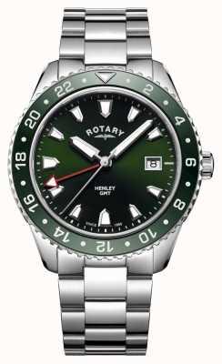 Rotary Мужские хэндли из нержавеющей стали из кварцевых часов GB05108/24