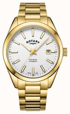Rotary Мужские часы из нержавеющей стали Havana из нержавеющей стали GB05081/02