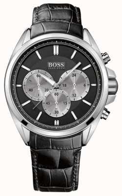 Hugo Boss Мужские черные хронографы 1512879