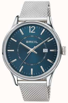 Breil Contempo из нержавеющей стали синий циферблат сетки браслет TW1560